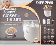 ** Tommee Tippee Closer to Nature Complete Starter Kit now £49.99 @ Tesco Direct **