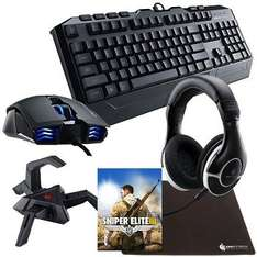 Cool Master gaming bundle with Sniper Elite 3 £66.80 delivered @ Overclockers (free P&P for those that qualify)