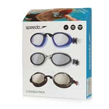 Adults/Kids Speedo Goggles 3 pack for 10.99+VAT - £13.18 @ Costco
