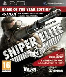 Sniper Elite V2 Game Of The Year edition - PS3 version - £21.99 @ Game.co.uk