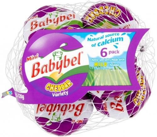 Mini Babybel (6 x 20g packs) was £1.85 now £1.00 @ Sainsbury's