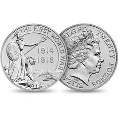 New (2nd) £20 coin for £20 plus £3 p&p (free if you buy 3 or more) @ Royal Mint