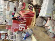 Clinton's card (In Store) Me to You bear 50% off and much more.