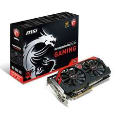 MSI R9 270X Gaming 4G PCIe Graphics Card plus possibly 2 free games £159.98 @ Amazon