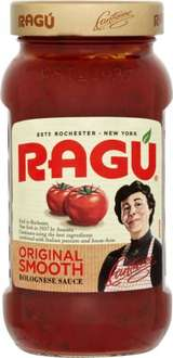 Ragu Smooth Bolognese Sauce (454g) was £1.85 now 92p @ Morrisons