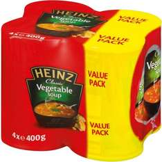 Heinz Classic Vegetable Soup (4 x 400g) now ONLY £1.69 @ Morrisons