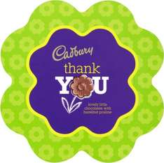 Cadbury Say It with Flowers Thank You Chocolates (180g) was £4.99 now £2.00 @ Morrisons