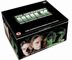 The Incredible Hulk: The Complete Seasons 1-5 [DVD]  £18.60 delivered  AMAZON