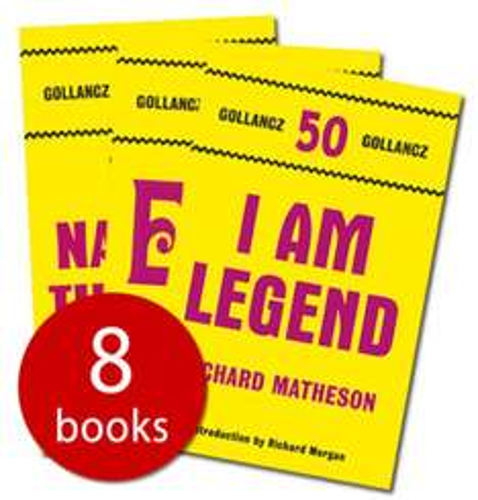 Gollancz 50th Anniversary Fantasy Collection - 8 Books - £5 + £2.95 P&P @ The Book People