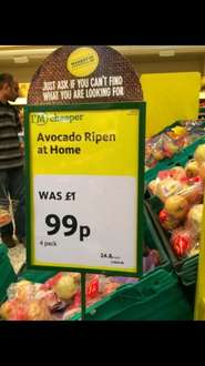 Avocados 4 pack 99p @ Morrisons