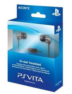 PS Vita In ear Headset £4.79 Sold by Desire IT and Fulfilled by Amazon. (Free delivery £10 spend / Prime / Locker)