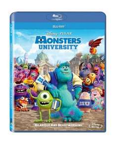 Monsters University (Blu-Ray) New Delivered £7.99 @ Base