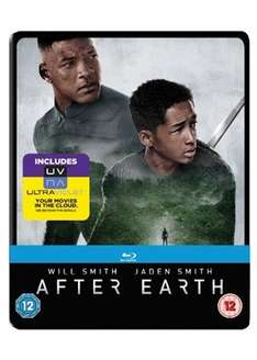After Earth Blu Ray Steelbook £4.99 @ Base