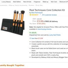 Real techniques brushes £13.99 Amazon