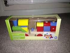 Carousel wooden construction set was £6 now £3 in Asda