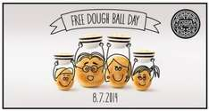 Free Portion Of Dough Balls (Tomorrow ONLY - 8/7/2014) @ Pizza Express :)