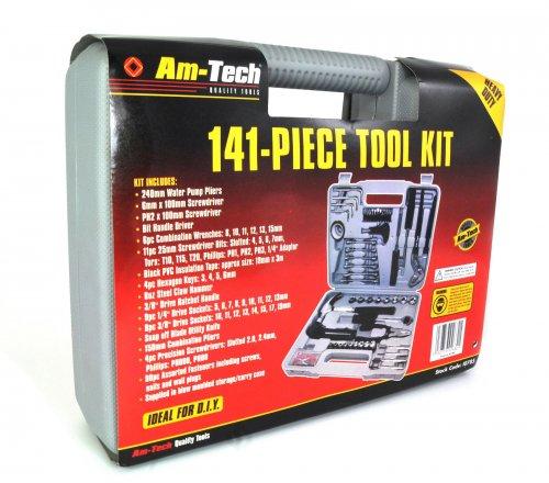 Am-techk 141 PIECE COMPLETE TOOL KIT SET £25.50 @ eBay / Sh0p Smart
