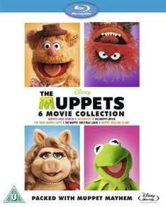 The Muppets Bumper 6 Movie Box Set [Blu-ray] Pre-Order ( Released August 4, 2014) £39.99 @ Amazon.co.uk