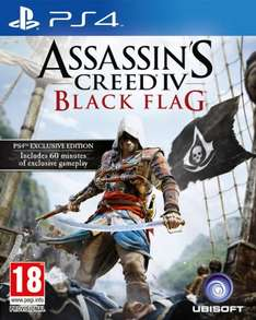 Assassins Creed IV: Black Flag (PS4) (Preowned) £19.99 @ Grainger Games