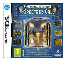 (Nintendo DS) Professor Layton and the Spectre's Call - £6.99 - Argos