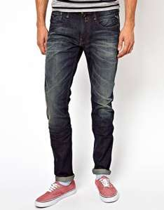 mens Replay Jeans Anbass Slim Fit Dark Blue Rinse Wash £31 delivered at ASOS + 3% quidco (all sizes at time of listing) RRP £105