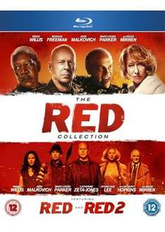 The Red Collection Red/Red2 [Blu-Ray] - £10.39 @ Base.com (Free Delivery)