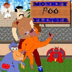 Rage Quits Monkey Poo Flinger game is free on Android from Google Play