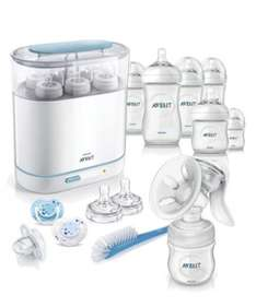 Complete natural starter set with manual breast pump £61.75 @ Mothercare