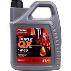 "Triple QX 5L Engine Oil + free oil filter from £12.98 Delivered from Euro Car Parts Plus 30% off all service parts with code ""SPRING30"""