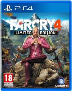 Far Cry 4 for PS4 / XB1 £39 with code @ Tesco Direct
