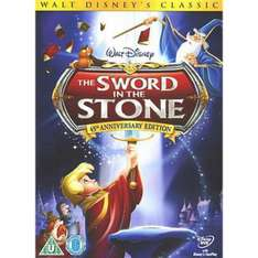 Selected Disney DVDs & Blurays Reduced @ Asda Direct Free Delivery