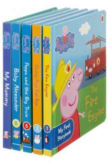 Peppa Pig 5 Book Bundle was £12.99 now £7.99 @ WHSmith Free C+C