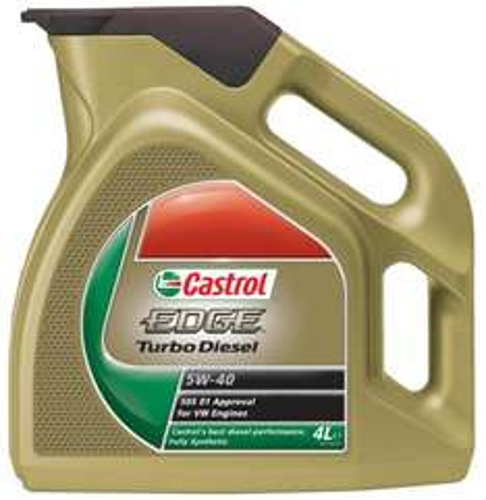 Castrol Edge Turbo Diesel 4L 5W-40 Engine Oil (4 Litre)) £27.42 @ Amazon