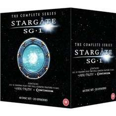 Stargate SG-1: Complete Series 1-10 / Ark Of Truth / Continuum DVD Box Set £49.97 New sold on Play.com by Foxdirect