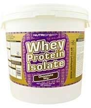 Nutrisport 5kg whey protein isolate (various flavours) - £56.74 @ Discount Supplements