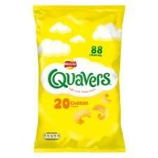 Walker's Quavers 20 Pack,  Half Price, £2.34 @ Tesco from tomorrow Weds 9th July