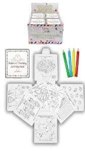 6 wedding favour children's activity packs £2.98 @ Amazon sold by Legs Galore