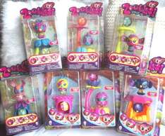 Zoobles Spring To Life Collectable Figures £1 @ POUNDWORLD
