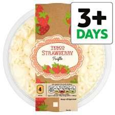 Tesco Strawberry Trifle 600g £1.17 @ Tesco
