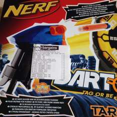 Nerf target tag gun set 5.99 home bargains