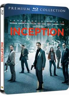INCEPTION Premium Collection STEELBOOK (Blu-ray + UV Copy) @ Base - £6.99