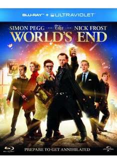 The Worlds End (Blu Ray & UV) £6.99 Delivered @ Base