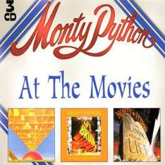Monty Python  -  At The Movies [3CD Box]  (Used - Very Good)  - Just £1.99 Delivered @ That's Entertainment