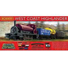 Hornby West Coast Highlander starter train set £49.99 IN-STORE at Hawkins Bazaar