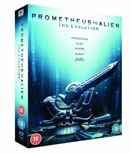 Prometheus to Alien Blu Ray bixed set £15 in store sainsburys
