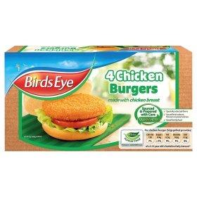 Birds Eye Chicken Burgers (4 Pack - 200g) - £1 @ Morrisons, Asda & Tesco = 60p via the Shopitize App...