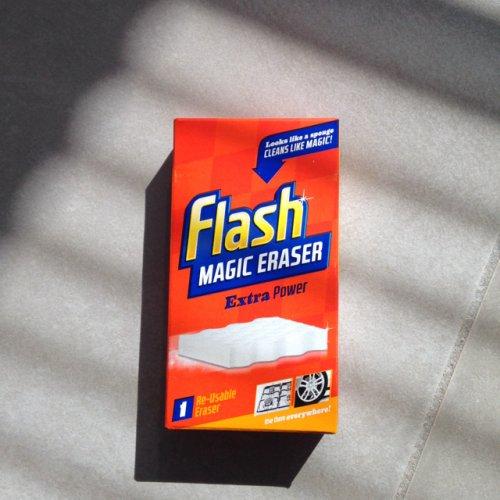 Flash magic eraser £1.98 or 2 for £2 @ ASDA