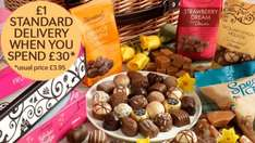 50% off Thorntons chocolate with codes - From £29.99 (+ P&P)
