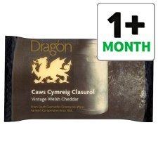Dragon Vintage Welsh Cheddar 350G Any 2 for £4.50 (£6.43/Kg) @ Tesco