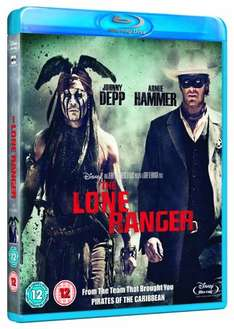 The Lone Ranger (Blu-Ray) New Delivered @ Base - £7.99